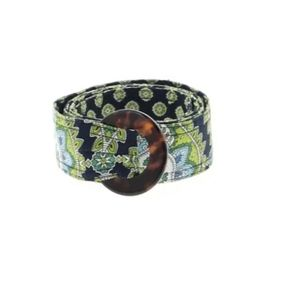Vera Bradley fabric belts. Available in 3 colors.